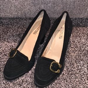 Michael Kors Womans Black Heels SZ.7